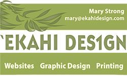 Ekahi Design - websites - graphic design and printing