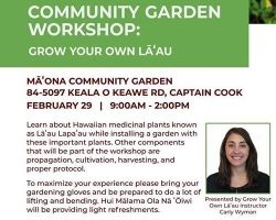 Community Garden Workshop