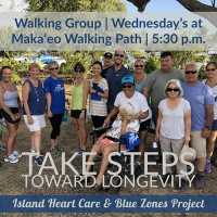 Walk with Island Heart Care and Blue Zones Project