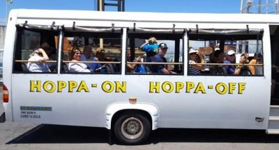 Hoppa On Hoppa Off Bus